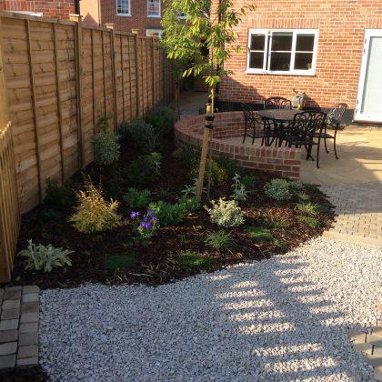Garden Design Suffolk New Planted Garden