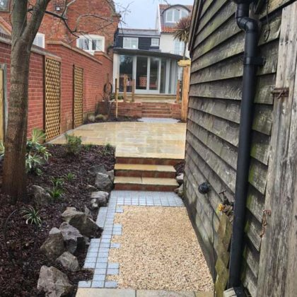JJ Garden Design Orford Gravel Path
