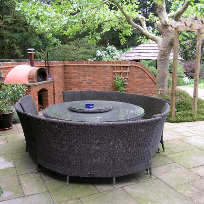 Garden Design Suffolk Pizza Oven