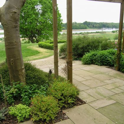 Garden Design Suffolk View from Terrace