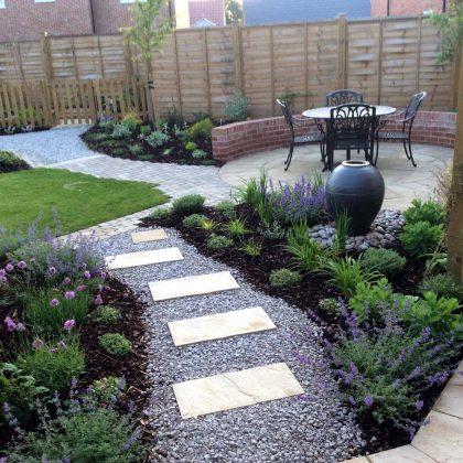 Small Garden Design Spring Planting