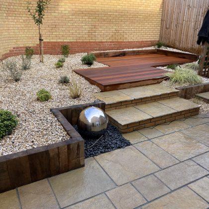 JJ Garden Design Contemporary Garden