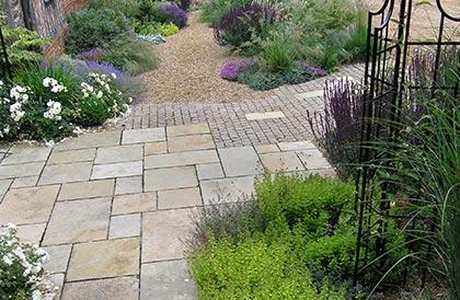 JJ garden design Bentley Hall